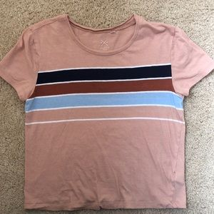 Pacsun striped t shirt